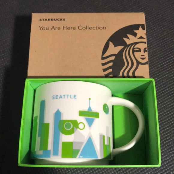 Starbucks You Are Here Collection Seattle Mug
